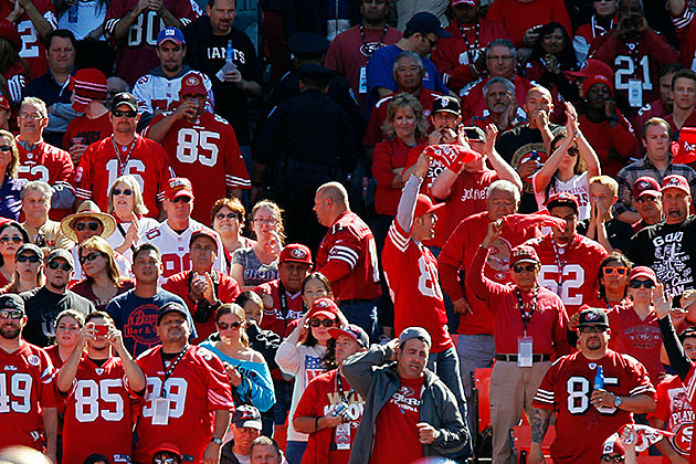 FILE: NFL Fans, San Francisco 49er Fans, Sports Fans