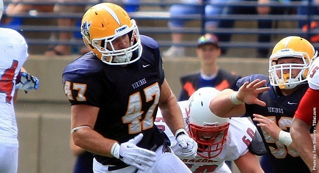 Brandon Mohr, Augustana Vikings football.jpg