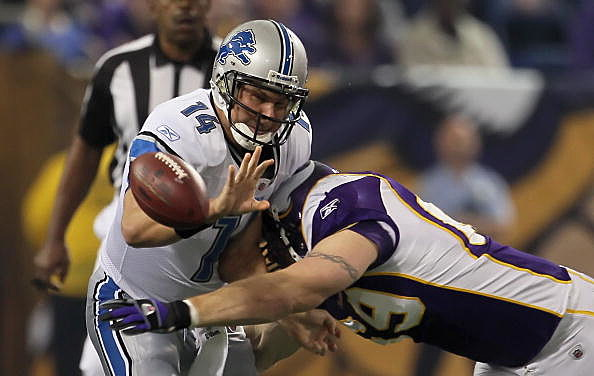 Jared Allen (69) vs. Detroit Lions