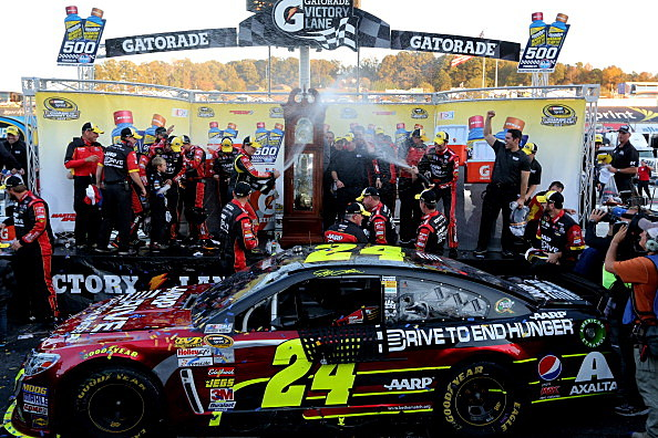 Jeff Gordon Martinsville