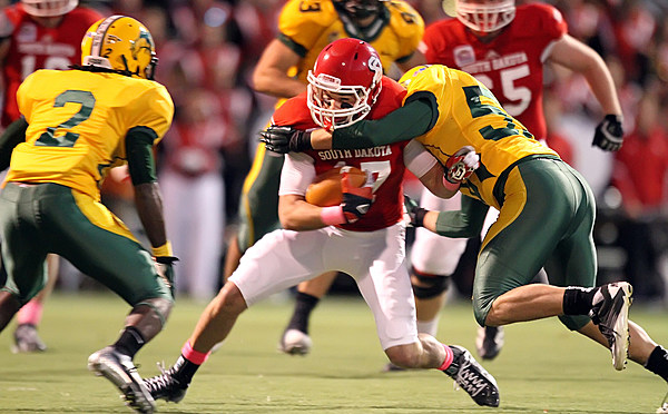 North Dakota State at University of South Dakota Football