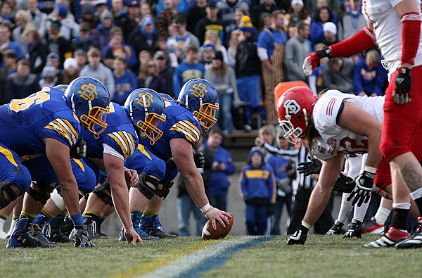 University of South Dakota at South Dakota State Universtiy Football