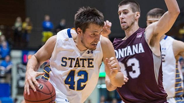 Jordan Dykstra, South Dakota State vs Montana, 11-14-2013