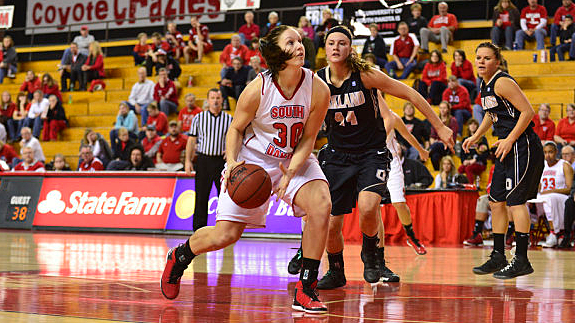 Margaret McCloud, University of South Dakota Coyotes