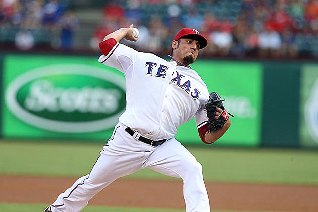 Matt Garza, Texas Rangers