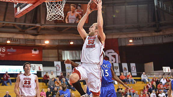 Trevor Gruis, University of South Dakota Coyotes