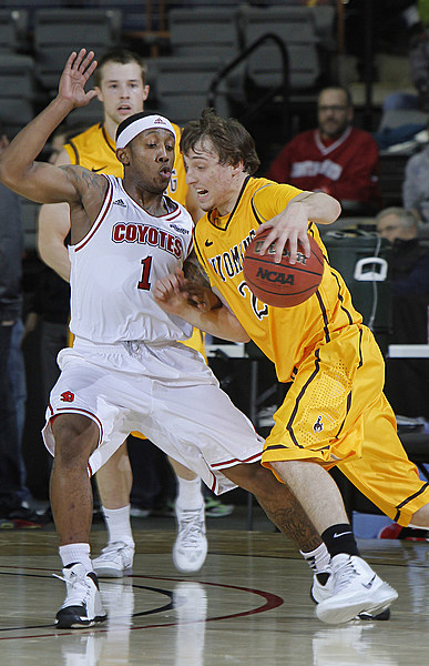 Trey Norris (1) - South Dakota Coyotes