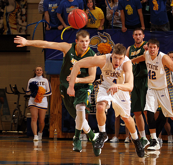 North Dakota State University at South Dakota State University Men's Basketball