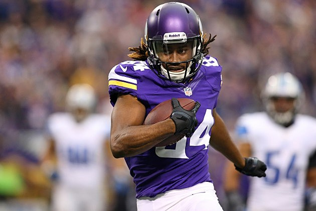 Cordarrelle Patterson #84 of the Minnesota Vikings