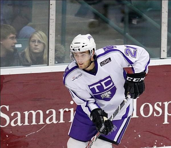 Christian Horn, Sioux Falls Stampede, Tri-City Storm
