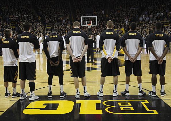 Iowa Hawkeyes mens basketball