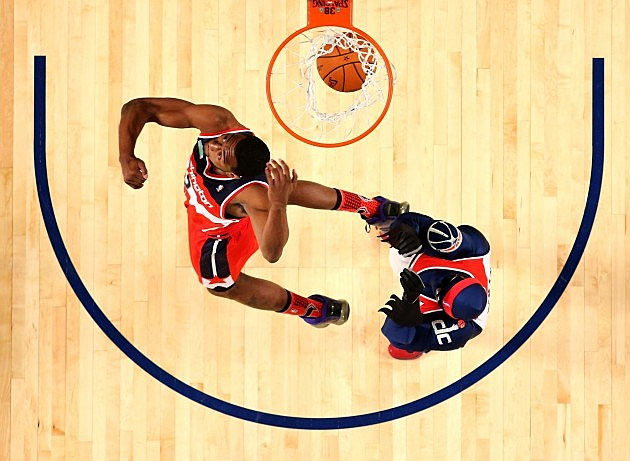 John Wall in the Sprite NBA Slam Dunk Contest 2014