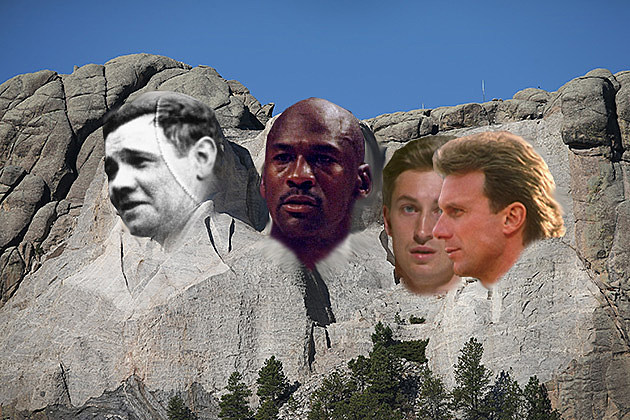 Sports Mount Rushmore