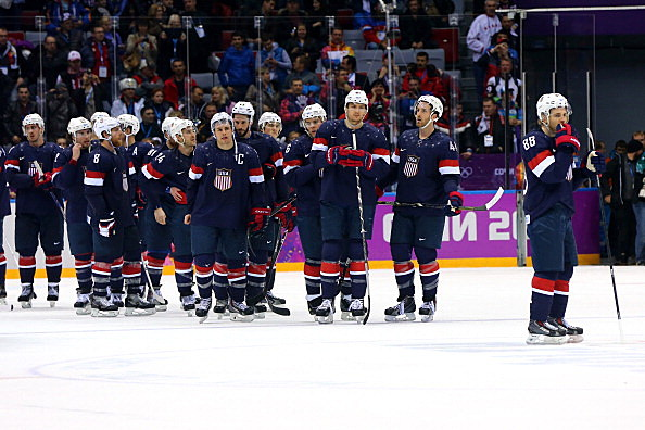 United States vs Finland, men's bronze medal game, 2014 Sochi Winter Olympics