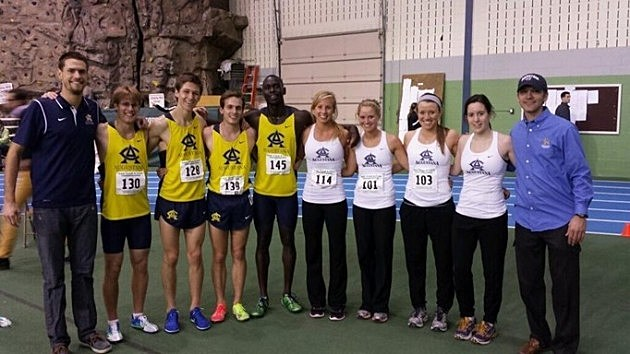 Augustana Vikings track and field DMR teams, 2014 NSIC Indoor Championships