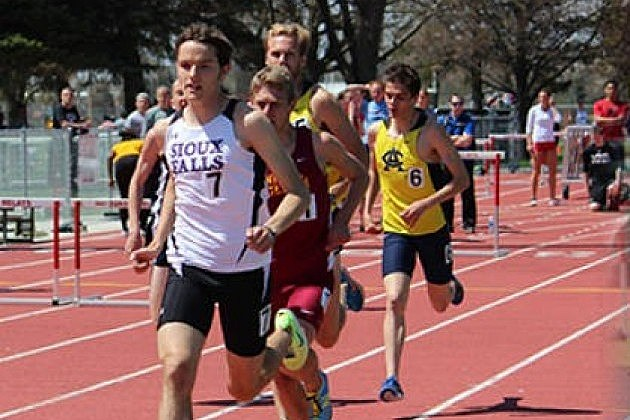 Bobby Brockmueller, University of Sioux Falls track and field