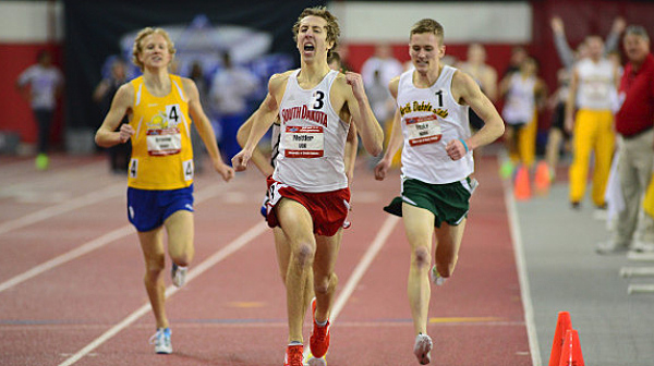 Jeff Mettler, University of South Dakota Coyotes track and field
