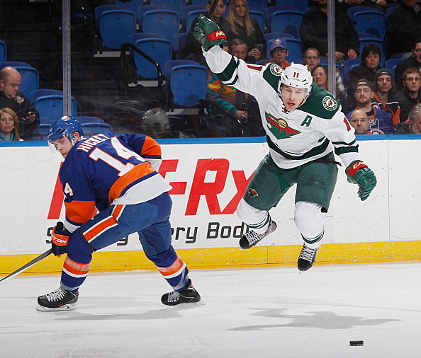 Thomas Hickey, New York Islanders and Zach Parise, Minnesota Wild