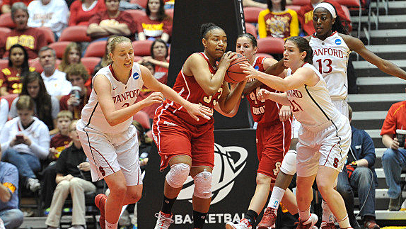 University of South Dakota Coyotes vs Stanford Cardinal, 2014 NCAA Tournament first round