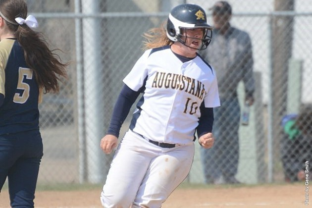 Jenelle Trautmann, Augustana Vikings softball