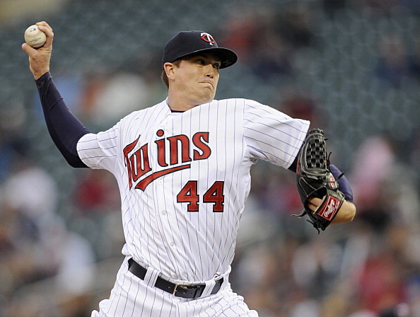 Kyle Gibson, Minnesota Twins vs kansas City Royals