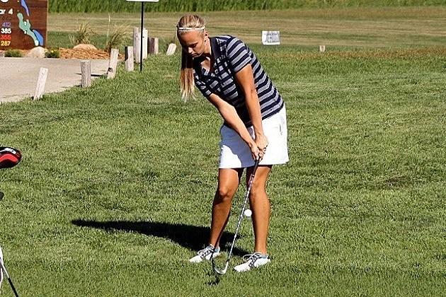 Maggie Leland, Augustana Vikings golf