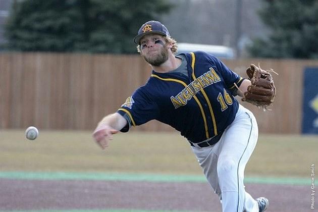 Tony Viger, Augustana Vikings baseball