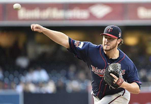 Phil Hughes, Minnesota Twins vs San Diego Padres