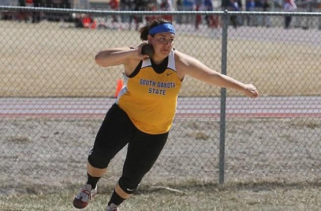 Shelby Assmus, South Dakota State Jackrabbits track and field