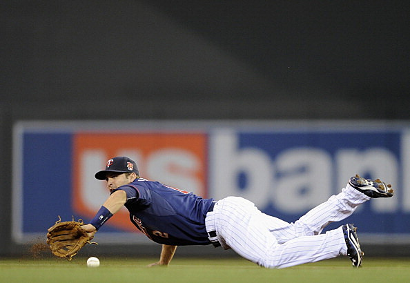 Brian Dozier, Minnesota Twins vs New York Yankees