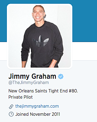Jimmy Graham Twitter