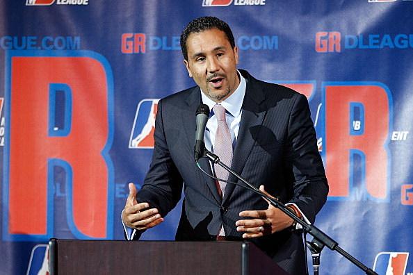 NBA D-League Grand Rapids Press Conference