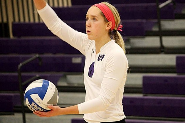 Emily Johnson, University of Sioux Falls Cougars volleyball