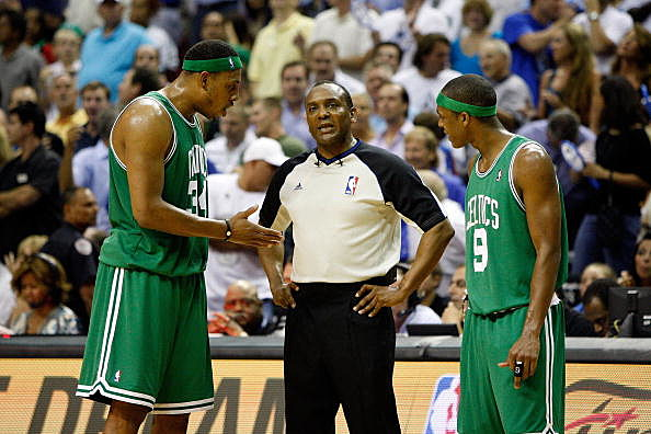 Paul Pierce, Eddie F. Rush, Rajon Rondo