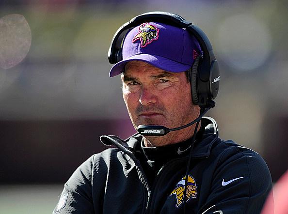 Mike Zimmer, Minnesota Vikings head coach