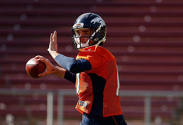 Just Like That, Brock Osweiler Is Back With The Broncos
