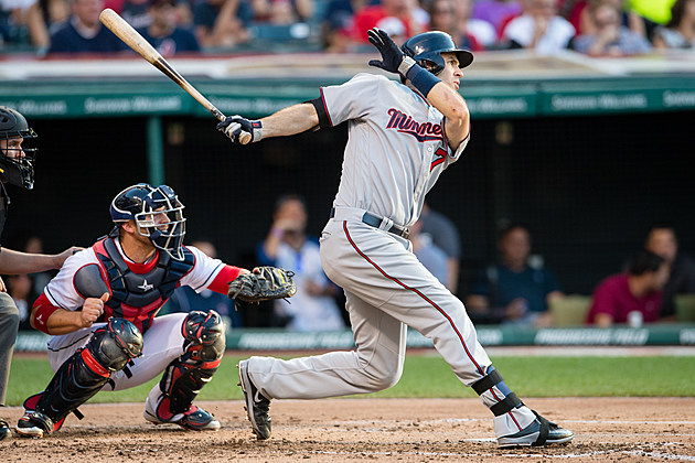 Joe Mauer #7 of the Minnesota Twins
