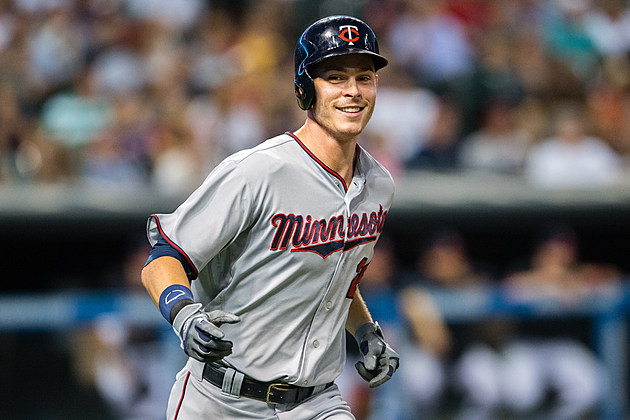 Max Kepler #26 of the Minnesota Twins