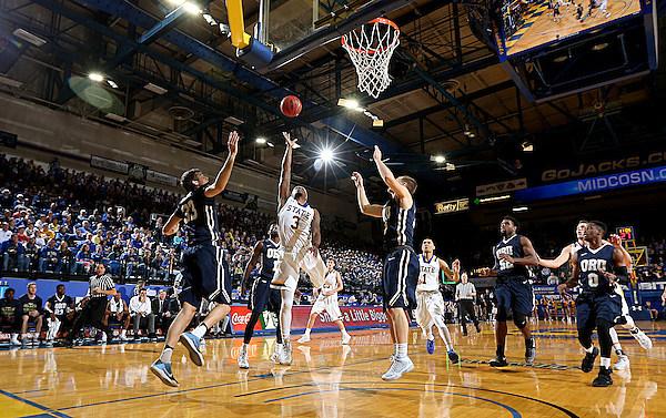 Oral Roberts University at South Dakota State University Men's Basketball