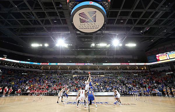 South Dakota State vs South Dakota Summit League Basketball Championship