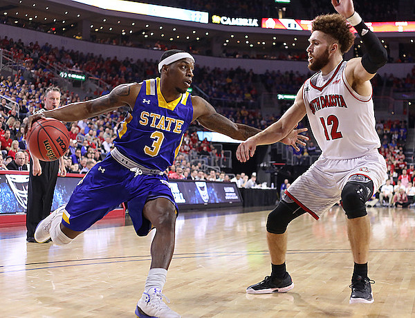 South Dakota State vs South Dakota Summit League Basketball Championship