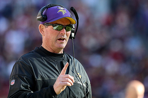 Vikings coach Mike Zimmer has now undergone eight surgeries on his eye